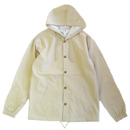 INDEPENDENT TRADING   WATER RESISTANT WINDBREAKER JACKET KHAKI コーチジャケット