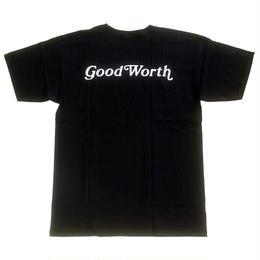 GOOD WORTH  OG LOGO TEE BLACK グッドワース Tシャツ