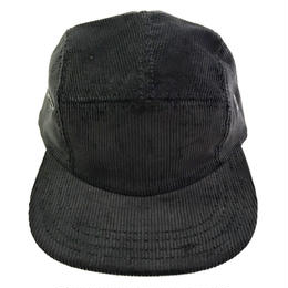 NEW YORK HAT / Corduroy 5Panel CampCap BLACK ニューヨークハット コーデュロイ キャップ
