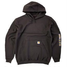 CARHARTT HOODED PULLOVER MIDWEIGHT SWEATSHIRT DARK BROWN カーハート パーカー