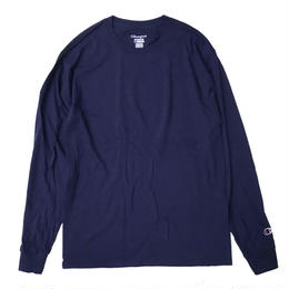 CHAMPION 5.2oz L/S TEE NAVY チャンピオン 長袖Tシャツ ネイビー