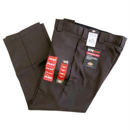 DICKIES 874 FLEX WORK PANTS DARK BROWN   ディッキーズ  フレックス ワークパンツ