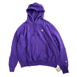 Champion Reverse Weave Pullover Hood PURPLE チャンピオン パーカー パープル