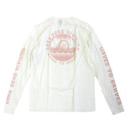 DARK SEAS   GRAVEN II L/S TEE WHITE ダークシーズ 長袖Tシャツ
