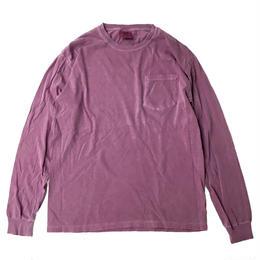 COMFORT COLORS 6.1oz L/S Pocket TEE BERRY コンフォートカラーズ 長袖Tシャツ