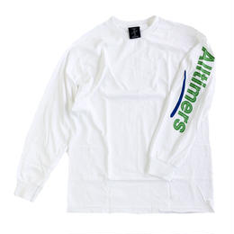 ALLTIMERS / ESTATE LONGSLEEVE TEE WHITE オールタイマーズ 長袖Tシャツ
