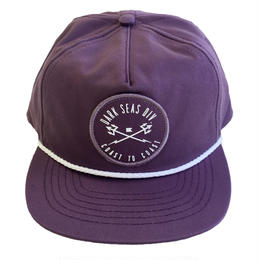 DARK SEAS  YBARRA SNAPBACK PURPLE ダークシーズ キャップ