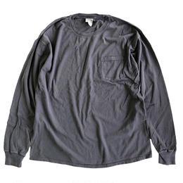 COMFORT WASH BY HANES / Ringspun Cotton Garment-Dyed TEE ヘインズ 長袖Tシャツ NEW RAILROAD