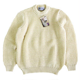 KERRY WOOLLEN MILLS  ケリーウーレンミルズ ニット セーター  Waffle CreNeck Sweater PureAran