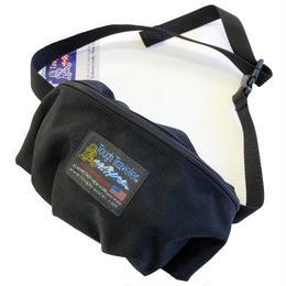 Tough Traveler / SUNNYSIDE PACK   BLACK タフトラベラー ウエストバッグ
