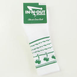 In-N-Out Burger DRINK CUP SOCKS GREEN インアンドアウトバーガー 靴下 ソックス