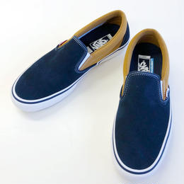 VANS  SLIP-ON PRO D.BLUE/M.BRONZE  バンズ スリッポン