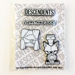 DESCENDENTS / Everything Sucks Enamel Pin Set  ピン ピンズ セット
