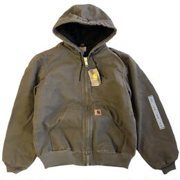 CARHARTT カーハート Quilted Flannel Lined Active Jacket Light Brown ダック キルティングジャケット