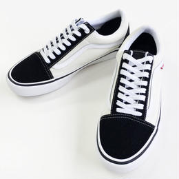 VANS OLD SKOOL PRO BLACK/WHITE バンズ オールドスクール