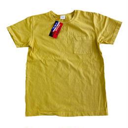 CAMBER / キャンバー 別注Tシャツ 302 SP Max Weight Crew Neck Pocket TEE MUSTARD