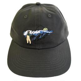 ONLY NY / Surf Cast Polo Hat VintageBlack オンリーニューヨーク キャップ