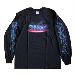 RIPNDIP / RAVE TEE L/S TEE  BLACK リップンディップ 長袖Tシャツ