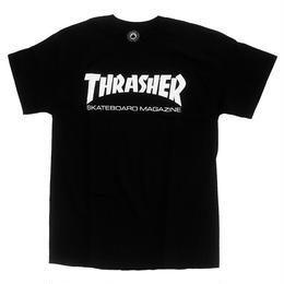THRASHER SKATE MAG S/S TEE BLACK スラッシャー Tシャツ