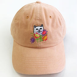 RIPNDIP / FLOWERS FOR BAE DAD HAT  ORANGE リップンディップ キャップ