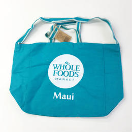 WHOLE FOODS MARKET / ADWIT OG TOTE TEAL ホールフーズマーケット トート トートバッグ