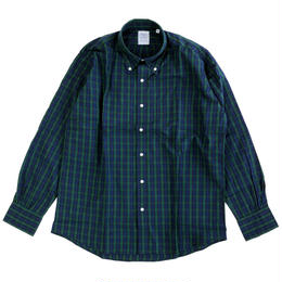 THE BAGGY  BROADCLOTH L/S BD SHIRTS BLACKWATCH BDシャツ バギー