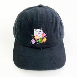 RIPNDIP / FLOWERS FOR BAE DAD HAT  BLACK リップンディップ キャップ