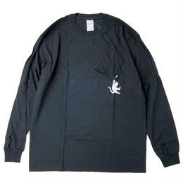 RIPNDIP / HANG IN THERE  L/S TEE  BLACK リップンディップ 長袖Tシャツ