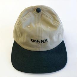 ONLY NY LODGE POLO HAT khaki オンリーニューヨーク キャップ