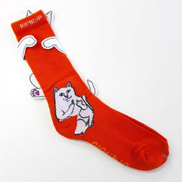 RIPNDIP / LORD NERMAL SOCKS ORANGE