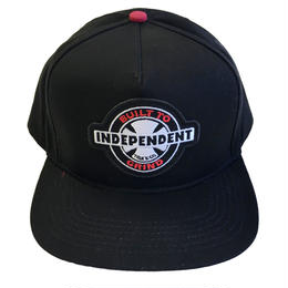 INDEPENDENT / 95 BTG RING CAP BLACK