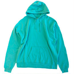 COMFORT WASH BY HANES / Ringspun Cotton Garment-Dyed Pullover hood sweatshirt ヘインズ パーカー MINT