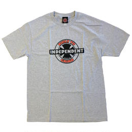 INDEPENDENT / 95 BTG RING TEE グレー