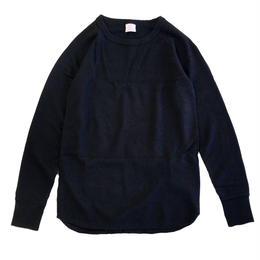 JE MORGAN / レディース サーマル L/S TEE BLACK モーガン サーマル Tシャツ