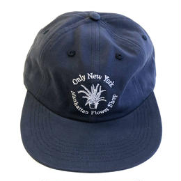 ONLY NY / Flower Shop Polo Hat NAVY オンリーニューヨーク キャップ