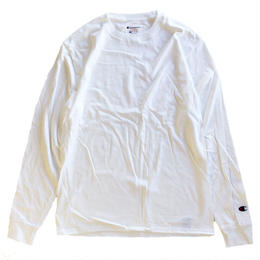 CHAMPION 5.2oz L/S TEE WHITE チャンピオン 長袖Tシャツ ホワイト
