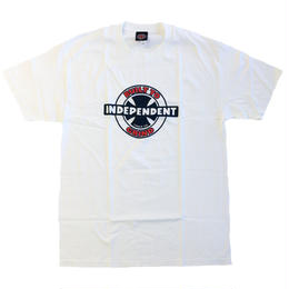 INDEPENDENT / 95 BTG RING TEE WHITE
