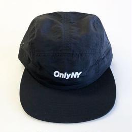 ONLY NY LOGO 5-PANEL black オンリーニューヨーク キャップ