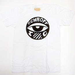 SCHROFF シュロフ / EYE BALL S/S TEE WHITE Tシャツ