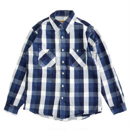 CAMCO(カムコ) HEAVY FLANNEL SHIRTS L/S BLUE ネルシャツ ブルー