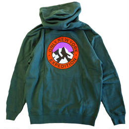ONLY NY EXPEDITION HOODY alpine green オンリーニューヨーク スウェットパーカー