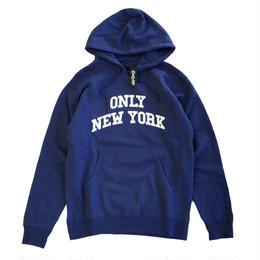 ONLY NY / Varsity Hoody BayBlue オンリーニューヨーク スウェットパーカー