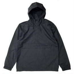 INDEPENDENT TRADING   WATER RESISTANT WINDBREAKER ANORAK JACKET BLACK アノラックジャケット