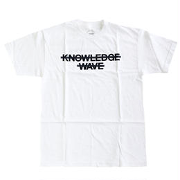 KNOW WAVE / Knowledge Wave TEE WHITE   Tシャツ