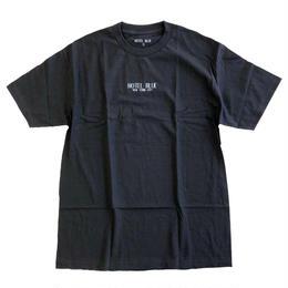 HOTEL BLUE /  LOGO S/S TEE BLACK ホテルブルー Tシャツ