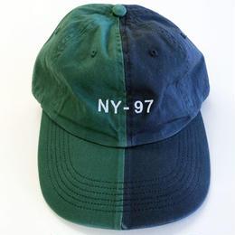ONLY NY NAUTICAL SPLIT POLO HAT navy/hunter オンリーニューヨーク キャップ
