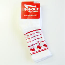 In-N-Out Burger DRINK CUP SOCKS インアンドアウトバーガー 靴下