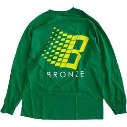 Bronze 56k  CLASSIC LOGO L/S TEE GREEN  長袖Tシャツ BRONZE56K