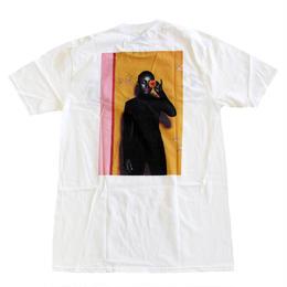 SADE / BLACK BLOOM TEE WHITE シャーデ― Tシャツ