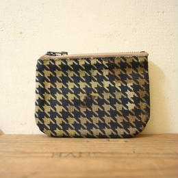 "vintage fabric pouch ""千鳥"""